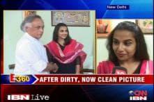 Vidya the brand ambassador for sanitation drive
