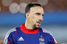 Benzema and Ribery struggling at Euro 2012