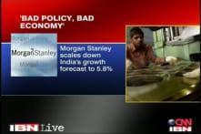 Morgan Stanley blames bad policies for low economic growth
