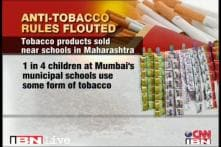 Maharashtra: Anti-tobacco rules being openly flouted