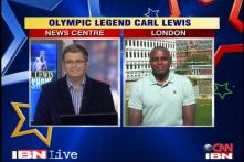 Exclusive: Phelps had a tough day, says Carl Lewis