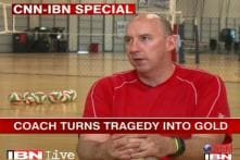 US volleyball coach turns tragedy into gold