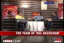 Ajay, Abhishek talk about 'Bol Bachchan'
