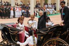 Watch: Pranab Mukherjee sworn in as the 13th President