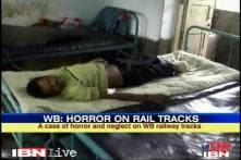 WB: Man hit by engine lies on tracks for one hour