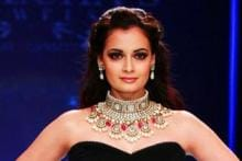 In Pics: Dia Mirza at India International Jewellery Week