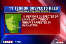 Bangalore: Journalist, 10 others arrested for terror links