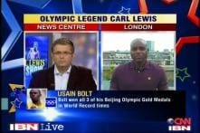 Exclusive: Carl Lewis on Sunday's 100m dash