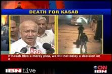 If Kasab pleads mercy, we won't take long to decide: Shinde