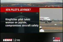 Kingfisher pilot compromises aircraft security