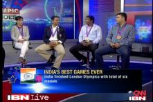 Olympic medallists in conversation with CNN-IBN