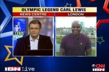 Carl Lewis exclusive: Phelps is special