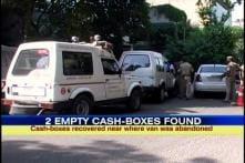 Delhi ATM van robbery: Police find 2 empty cash trunks