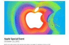 Apple to live stream October 23 event, iPad mini expected