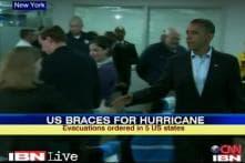 Hurricane Sandy serious, says Barack Obama