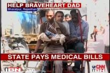 Rajasthan govt offers help to rickshaw puller's baby girl