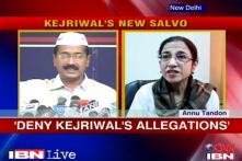 Congress MP Annu Tandon rubbishes Kejriwal's allegations