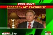 Boris Becker Exclusive: I'm a Roger Federer fan