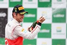 McLaren's Jenson Button wins Brazilian GP 2012