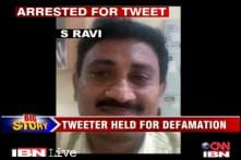 Man arrested for tweets against Chidambaram's son plans legal action