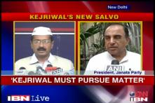 Swamy backs Kejriwal, asks if govt will act on the allegations