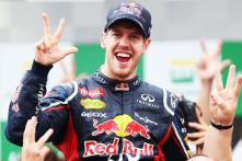 Vettel wins his 3rd straight F1 championship title