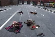 Delhi homeless brave winter chill worsened by state apathy, police abuse