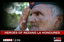 Heroes of Rezang La honoured by CNN-IBN