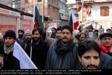 Srinagar: Yasin Malik arrested during JKLF march