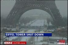 Europe: Many flights cancelled as heavy snowfall continues