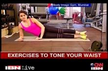 Watch: Exercises for your waist and obliques