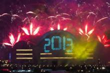 In pics: New Year celebrations across the world