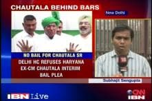 Teachers' recruitment scam: No interim bail for Chautala