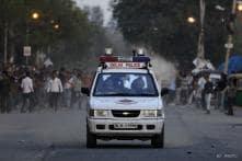 Pictures: Locals protest after minor's rape in Delhi school