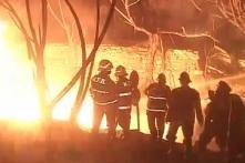 Mumbai: One dead, 13 injured in fire in Mankhurd