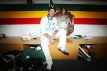 Ricky Ponting lifts domestic trophy with Tasmania