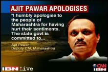 Uproar over Ajit Pawar's 'urine' remark forces him to apologise