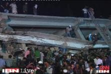 Hundreds still missing after building collapse kills 300 in Dhaka