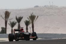 Raikkonen fastest in second practice at Bahrain GP