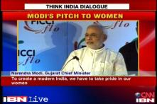 Modi reaches out to women, calls for their empowerment