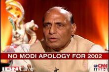 No reason for Modi to apologise for 2002 riots: Rajnath