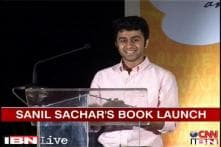 Watch: Javed Akhtar launches book by budding poet Sanil Sachar