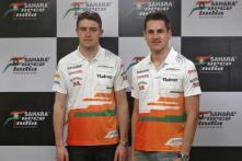 Force India to reprimand their drivers for China collission
