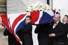 Britain stages grand funeral for Margaret Thatcher