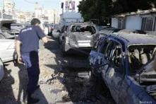 Rockets hit Beirut after Hezbollah vows Syria victory