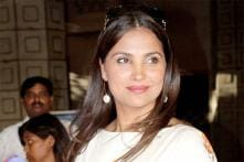Snapshot: A leaner Lara Dutta steps out in a white dress for an event