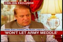 If my party comes to power, we'll not play second fiddle to Army: Nawaz Sharif