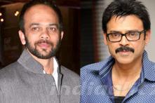 Bollywood director Rohit Shetty surprises Venkatesh
