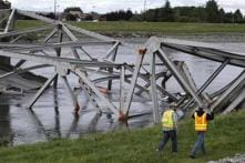 US: Truck crash may have caused state bridge collapse