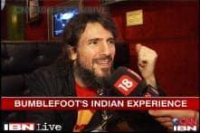 Guns N' Roses lead guitarist Rom Bumblefoot in India